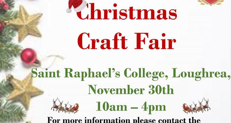 Annual Christmas Fair, November 30th 2019, 10am – 4pm