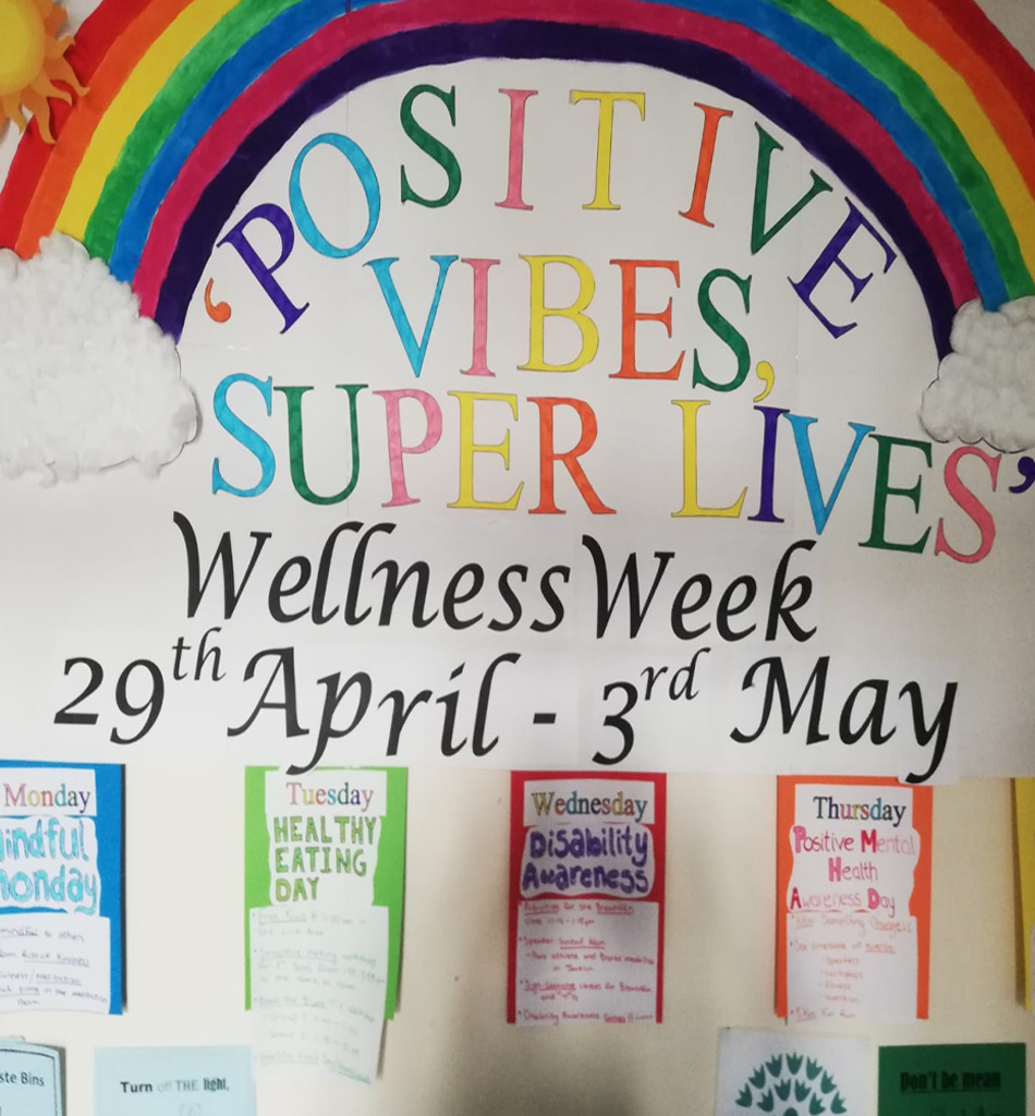 Wellness Week  29th April – 3rd May 2019