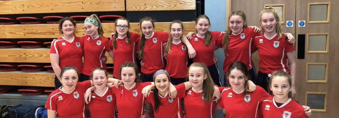 1st Year Girls Volleyball Team