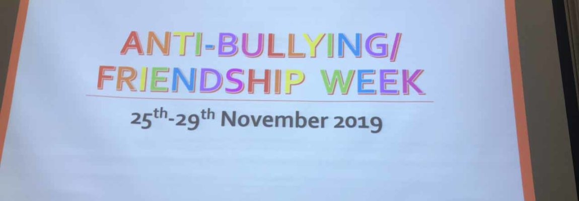 Anti-Bullying/Friendship Week