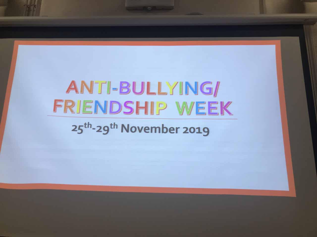 Anti-Bullying/Friendship Week