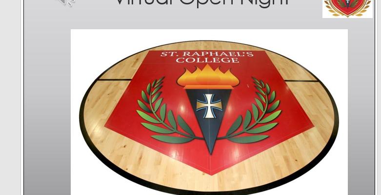 St. Raphael's College Open Night presentations