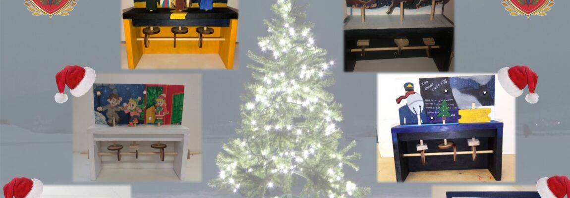1st and 2nd Year Technology Christmas Projects